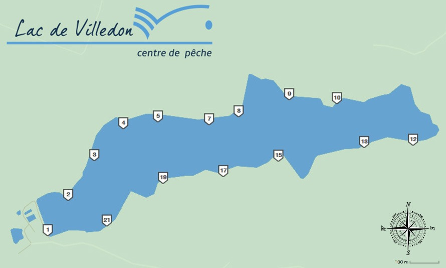 Pêche à la carpe : Lac de Villdon